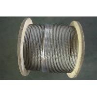 China 3 16 Aircraft Stainless Wire Rope for automobile industry , Vinyl Coated Wire Rope Cable wholesale
