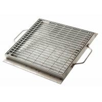 China Smooth Flat Surface Sump Grate Cover , Durable Flowforge Steel Grating Cover wholesale