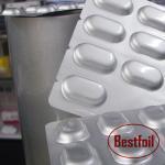 China Alu alu aluminum base cold forming foil pharmaceutical foil pill packaging wholesale