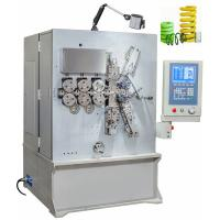 China Vertical Grey White Painting CNC Spring Coiler Servo Drive Controlled High Efficiency wholesale