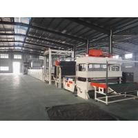 China Carpet Tile Bitumen Production Line Or Continuous Operation Separate Cutting Control wholesale