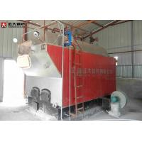 China Package Boiler Wood Fired Steam Boiler / Water Tube Steam Boiler Low Running Cost wholesale