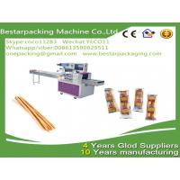 Quality Flow pack machine for bread sticks,breadsticks,Lance Bread Sticks packing for sale
