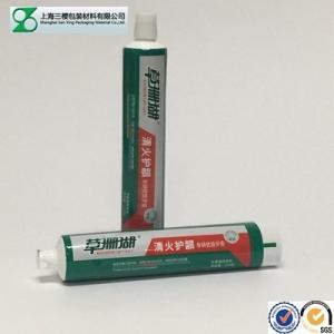China Round Shape Aluminum Barrier Laminate Tube with offset Decoration wholesale