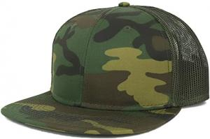 China Common Fabric 3d Embroidery Camo Trucker Cap For Female wholesale