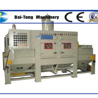 China Anti Explosion Automatic Sandblasting Machine Compact Working Cabinet For Steel Plate wholesale