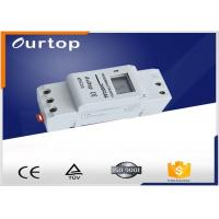 China Din Rail Programmable Electronic Timer Switch , On Off Timer Switch North 1 ~ 66 º South 1 ~ 66 º wholesale