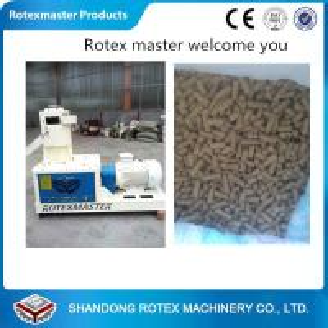 China Flat die type woodsawdust strawWood pellet machine 30KW Power 380V wholesale