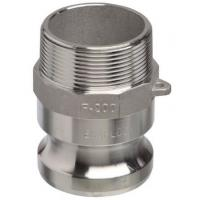"""Wholesale Camlock Part F 3"""" Male Adaptor Air Hose Couplings with Male NPT Thread Aluminium from china suppliers"""