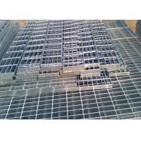 China Self Color Mild Steel Grating , Fire Brigade Driveways Galvanised Grid Flooring wholesale