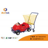 China Kids Child Small Supermarket Shopping Trolley Cartoon Stable Funny Design on sale