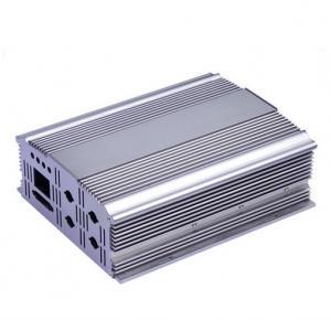 China Silvery Polishing Aluminium Extrusion Profiles Aluminum Cover wholesale