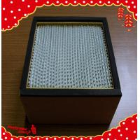 China 484x484x220mm plank frame separator high efficiency particulate air filter wholesale