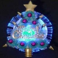 China Christmas Optical Fiber Flashing Brooch, Several Attractive Models are Available wholesale