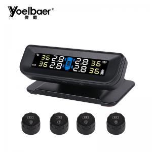 China Wifi Tyre Pressure Monitor 433mhz Digital Smart TPMS Tyre Pressure Sensor wholesale