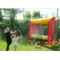 China Fun Outdoor Inflatable Sport Game Bouncy Security For Archery Shooting wholesale