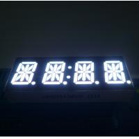 China High Brightness 14 Segment Alphanumeric Display White 4 Digit 0.54 Inch For STB wholesale