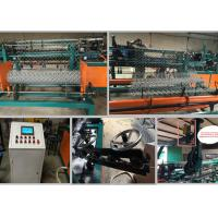 Buy cheap Double Wire Chain Link Machine For 3m  4m And 6m With PVC Wire And Galvanized Wire from wholesalers