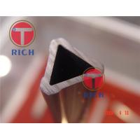 China Steel Grade Structural Steel Pipe , Special Triangle Steel Tube For Furniture wholesale