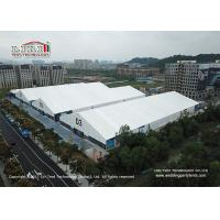 China 30M x100M  Temporary Large Outdoor Exhibition Tents With Whie Roof Cover For Conference wholesale