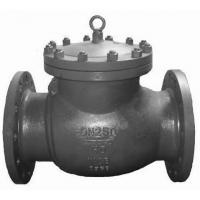 China Full Opening Swing Check Valve Full Face With RF Flange Ends 600 Class As Per ASME B 16.34 wholesale