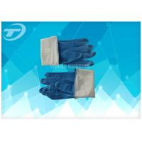 China Seamless Disposable Medical Gloves , Full Finger Powdered Latex Gloves wholesale