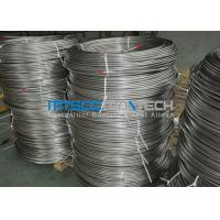 China Cold Drawn Stainless Steel Seamless Coiled Tubing 9.53mm x 0.89mm wholesale