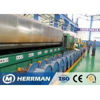 Individual Motor Control Wire Drawing Line , Wire Processing Machine 360KVA