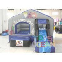 China Little Inflatable Bounce Jumping House With Slide For Family Children Park wholesale
