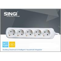 China Residential / General-Purpose 5 Outlet Power Strip with 2 years warranty wholesale