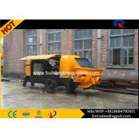 China Air Cooling Diesel Injection Pump Concrete Pump Equipment 1.4m Filling Height wholesale