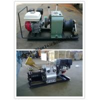 China cable puller,Cable Drum Winch,Cable pulling winch, Cable bollard winch wholesale