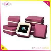 China Luxury paper box for jewelry packaging box wholesale