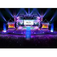 China Programmable full color LED display Long lifespan / Outdoor LED screens for stage wholesale
