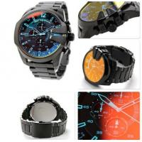 China Wholesale NEW GENUINE DIESEL DZ4318 BLACK ION-PLATED MEGA CHIEF CHRONOGRAPH MENS WATCH wholesale