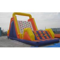 China inflatable obstacle course / inflatable climbing obstacle course for kids play wholesale