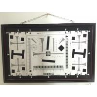 Quality Camera test chart 2000 lines iso 12233 standard test chart for resolution, MTF, for sale