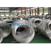 ASTM A269 Stainless Steel Coil Tubing , Super Long Cold Drawn Seamless Tube