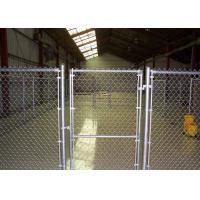 China Decorative PVC Coated / Galvanized Chain Link Fence for Public , Sport Field wholesale