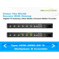 Wholesale Simple DVB 8 ASI Input 2 Output Digital TV Multiplexer Support EPG Data PSI SI Input from china suppliers