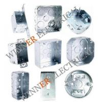 China Metallic Outlet Box wholesale