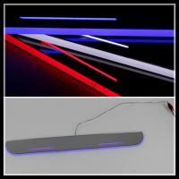 China For Ford Focus LED door sill plate lights LED moving door scuff LED courtesy lamps Focus wholesale