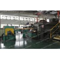 China 3 Strands Horizontal CCM Continuous Casting Machine For 95x25 Red Copper Pipes wholesale