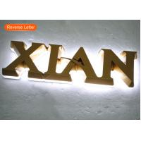 China Backlit Mini Acrylic 3D LOGO LED Channel Letters For Indoor Signage wholesale