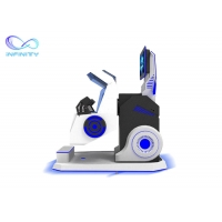 China Exciting 720 Degree Flight Simulator Cockpit 360 Vr Chair Rotation VR Simulator for Roller Coaster Simulator wholesale