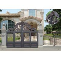 China Villa Aluminum Electric Garden Door Opening Type With Remote Control Motor Shaft 4.5m wholesale