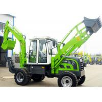China Hydraulic Heavy Equipment Small Tractor Backhoe Loader Rated Load 2000 kg wholesale