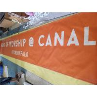 China Full Color Pvc Mesh Banner Printing 9*9 Small Hole For Fence Wraps wholesale