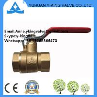 China Brass Ball Valve with Lock Water Meter(YD-108) wholesale