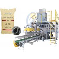 China Rubber Antioxidant Granule Packing Machine , 5kg To 25kg Open Mouth Bagging Machine on sale